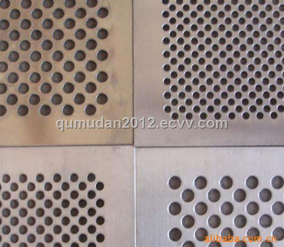 Perforated metal mesh, stainless steel Perforated metal ,copper steel perforated metal