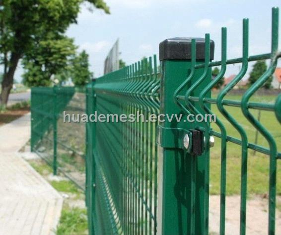 Pvc coated welded wire mesh fence panel purchasing