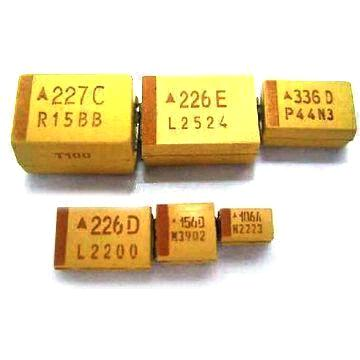 Smd Tantalum Capacitors With Low Esr Type And Rohs