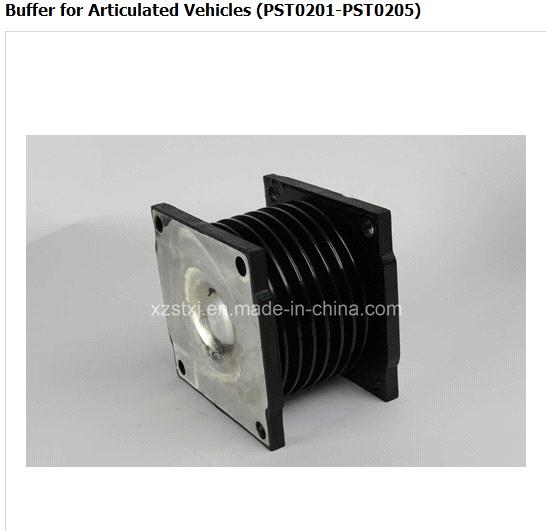Shock absorber-Buffer rubber for Articulated vehicles