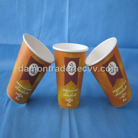 Single Poly coated paper cup-10