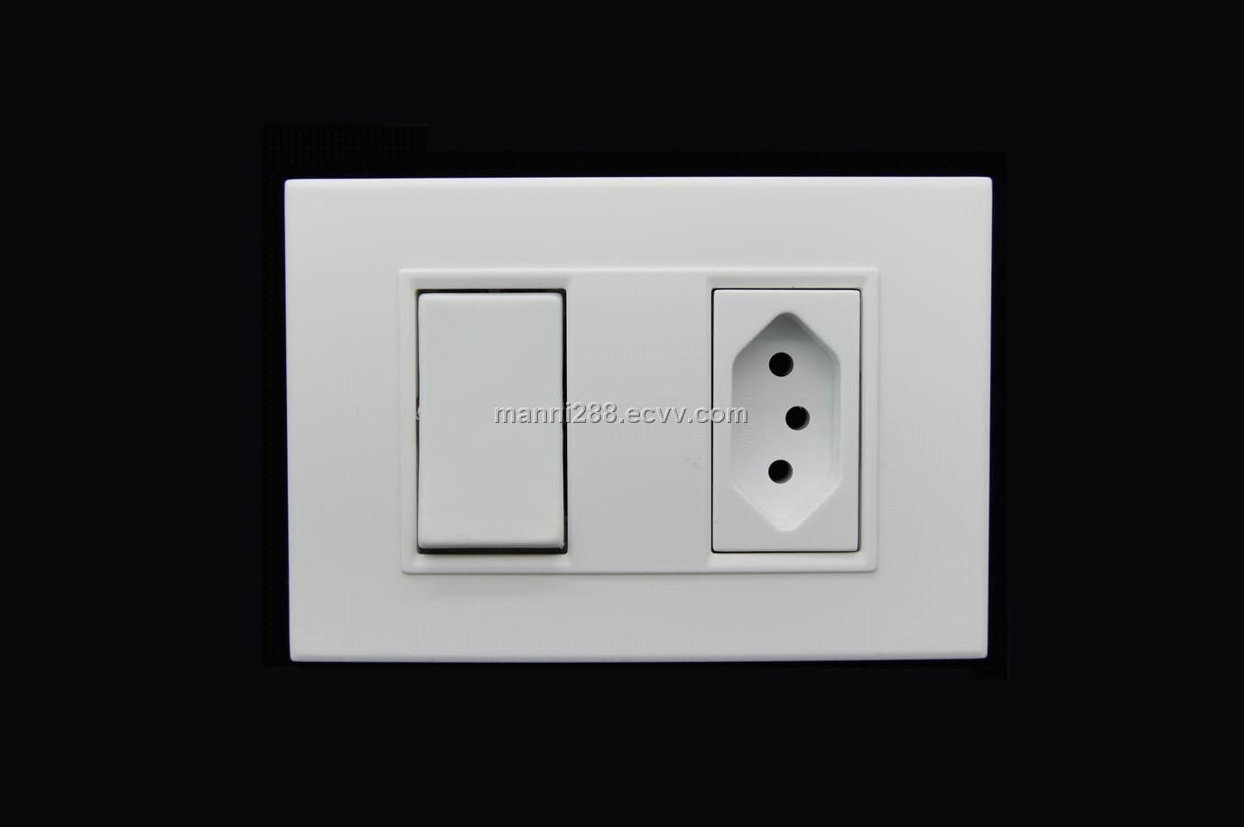 South American standard, 10A 250V switches socket purchasing ...