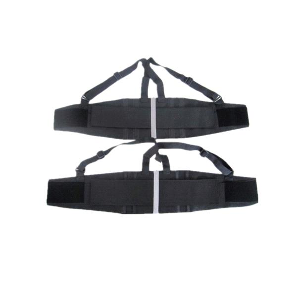 Suspender Back Support Safety Belt with Reflectivity Sliver Light Fabric