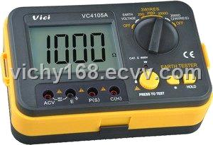 VC4105A Earth Resistance Meter