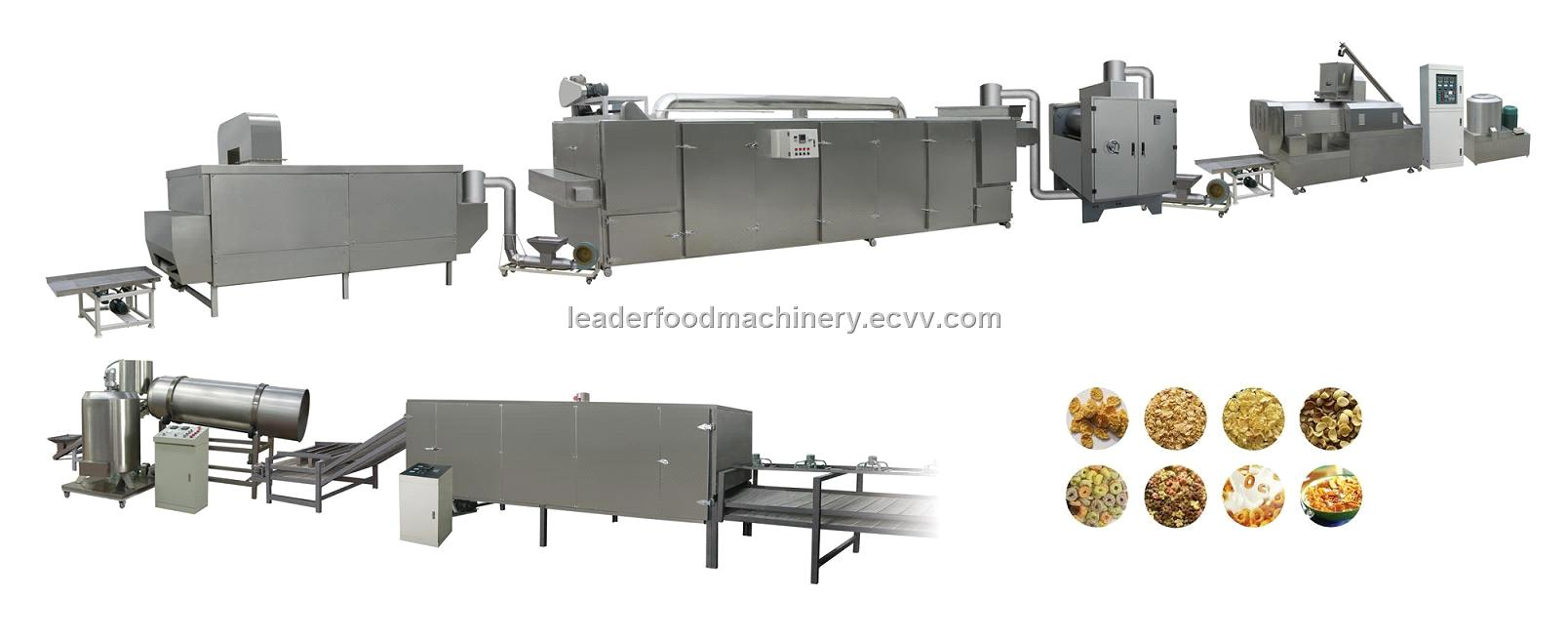breakfirst cereal processing line