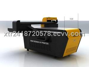 glass flatbed printer machine with outdoor longlife uv ink