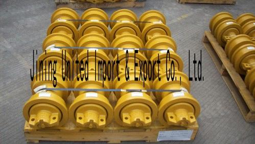 komatsu D70LE bulldozer single flange track roller bottom roller