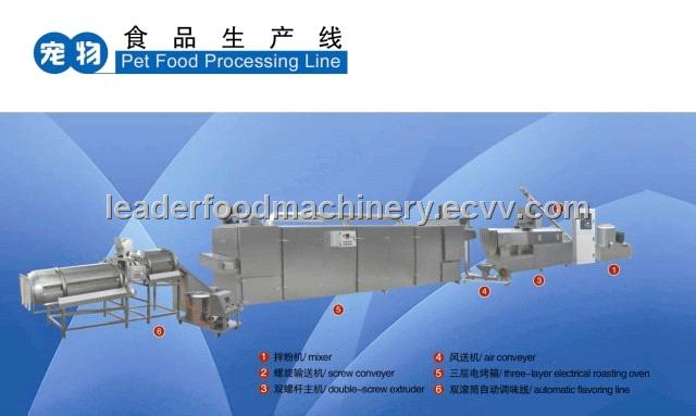 petfood( dog food fish feed) processing line
