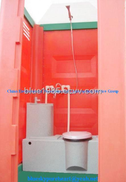 Plastic Portable Toilet And Shower Room Purchasing Souring Agent - Portable bathroom with shower