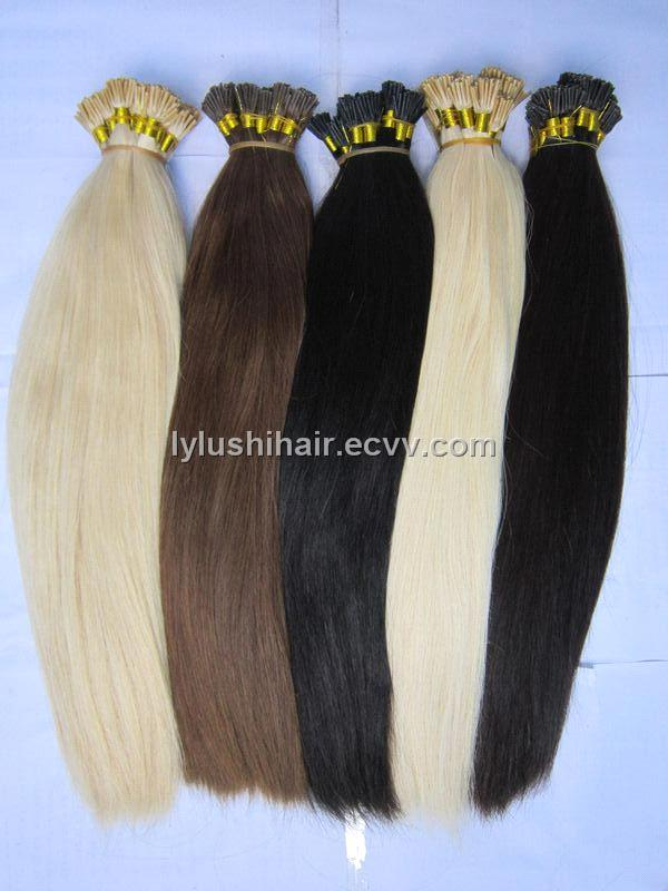 Pre Bonded Keration Remy Human Hair Extensions Purchasing Souring