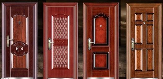 Simple Design Steel Security Main Door Design From China