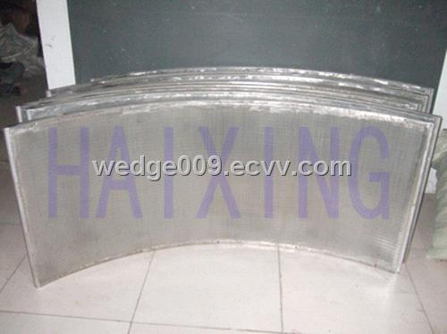 stainless steel wedge wire Curved Screen