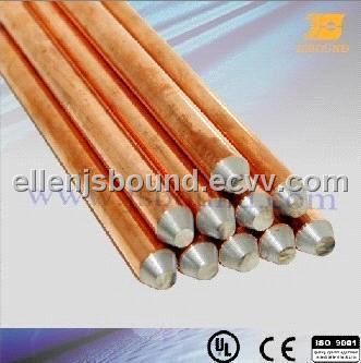Copper-clad steel grounding rod (JB-CA)