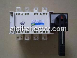 Manual double power switches-160A