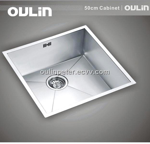 Undermount Stainless Steel Square Sink Ol F102