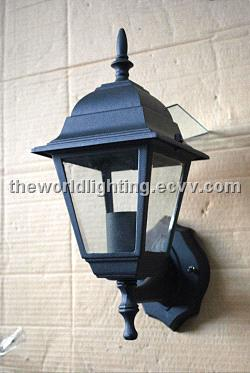0wl002 Black Traditional Metal Outdoor Wall Lamp China