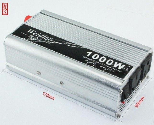 1000w power inverter dc 12v to ac 220v with usb for auto. Black Bedroom Furniture Sets. Home Design Ideas