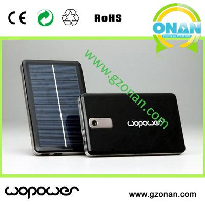 12000mAh capacity  Universal solar power bank for Smartphone/iPhone/iPod/Ipad