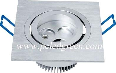 3W LED Square Ceiling light fixture