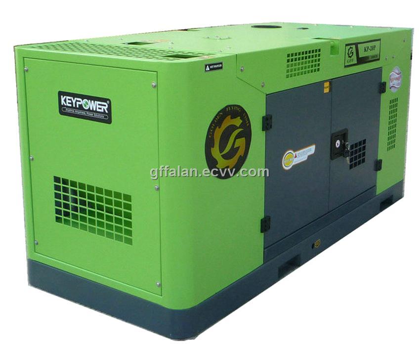 50KV super silent Cummins diesel engine generator sets from China