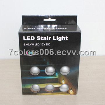 6pcs Pack Of LED Stair Light Kits Outdoor (SC B106C)