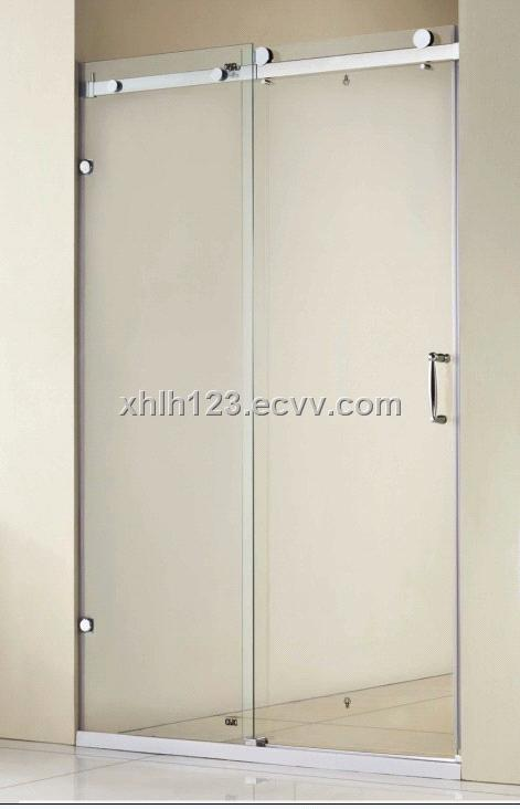 8mm Tempered Glass Shower Door Stainless Steel Shower Screen China