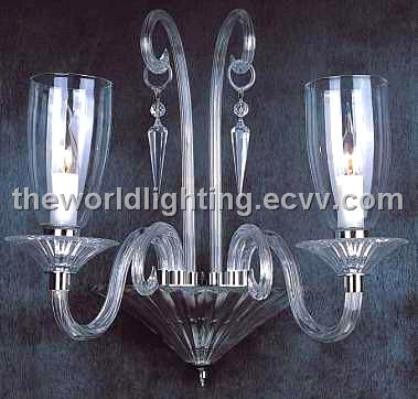 (AQ0246 2w) Modern Crystal Decoration Glass Wall/Crystal Lamp