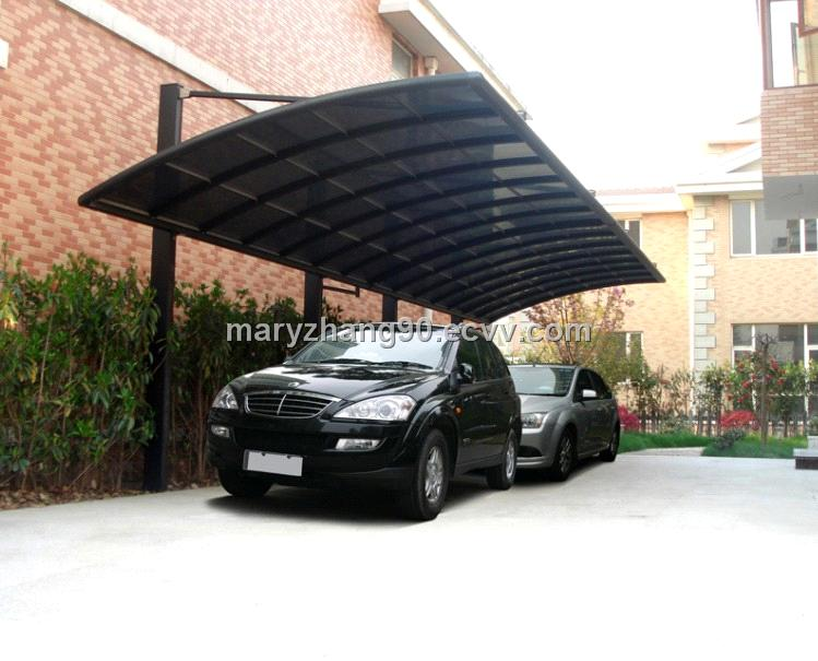 Outdoor Carport Canopy : Aluminum carport canopy car sheds shelter outdoor metal