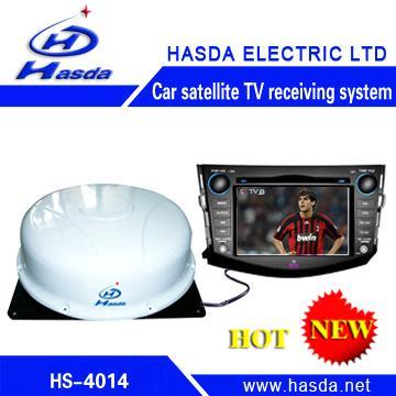 Automatic Dome Satellite TV Receiver