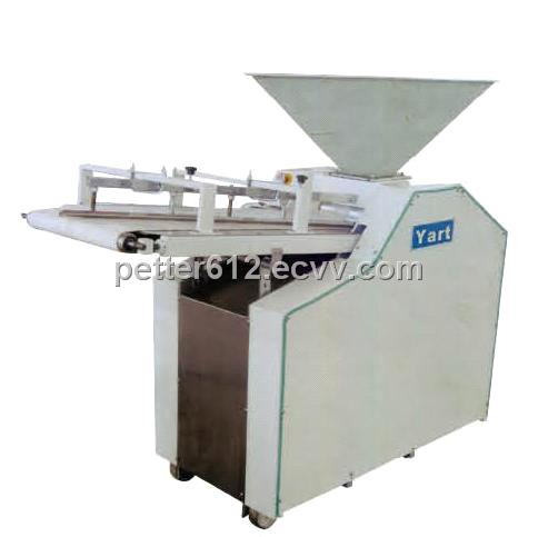 Continuous dough divider and rouder/divider and rounder machine /baking equipment