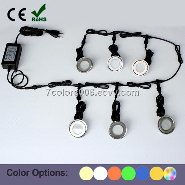 DIY Recessed LED Floor Light Outdoor Deck Lighting Kits (SC-6*B101B SET  sc 1 st  ECVV.com & DIY Recessed LED Floor Light Outdoor Deck Lighting Kits (SC-6*B101B ...