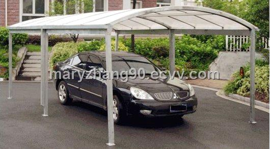 Galvanized carport