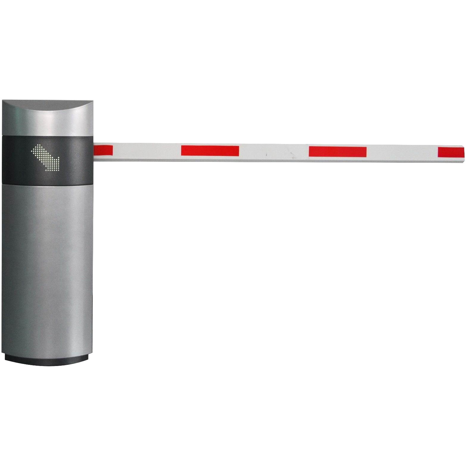 High speed barrier gate operator with arm auto reverse and