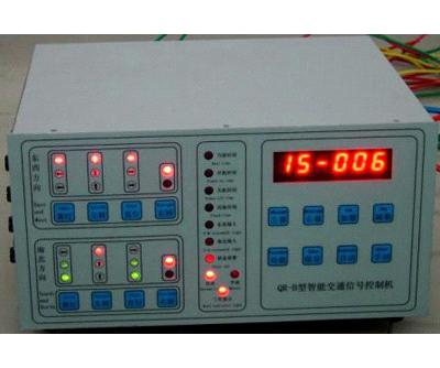 Intelligent traffic signal controllers machine