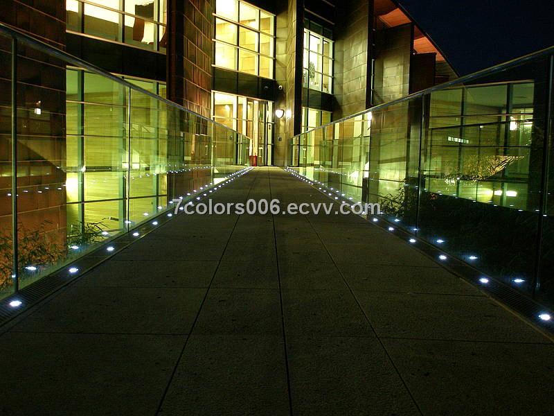 Round LED Floor Recessed Light Outdoor Decoration (SC B101B)