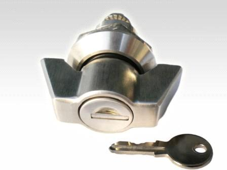 Stainless steel wing knob quarter turn cam locks from China