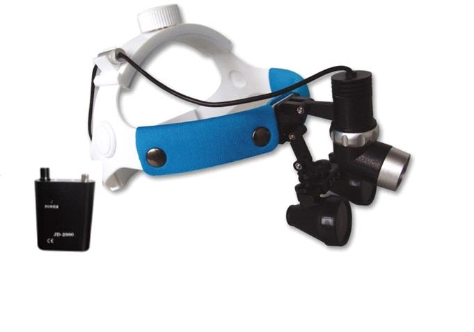TD2000-L 3W LED Surgical Headlight with Loupe for dental unit/ENT
