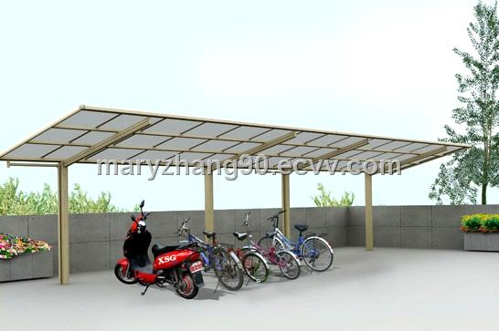 The most Convenient Outdoor Carport Canopy Protecting Your Bike and Motrocycle from UV and Rain & The most Convenient Outdoor Carport Canopy Protecting Your Bike ...