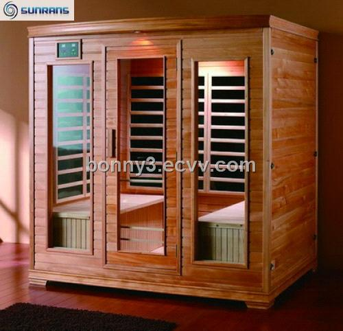 Traditional far-infrared sauna room SR127