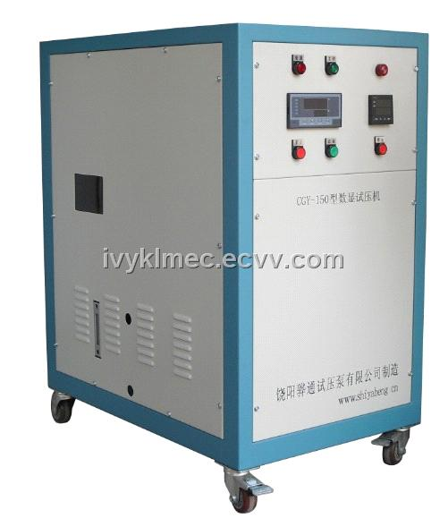 Ultrahigh Pressure Digital Display Hydraulic Test Pump | Test pump