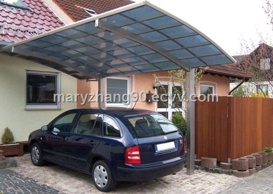 Unique tent outdoor aluminum gazebo parking post for all kinds of cars(JR)