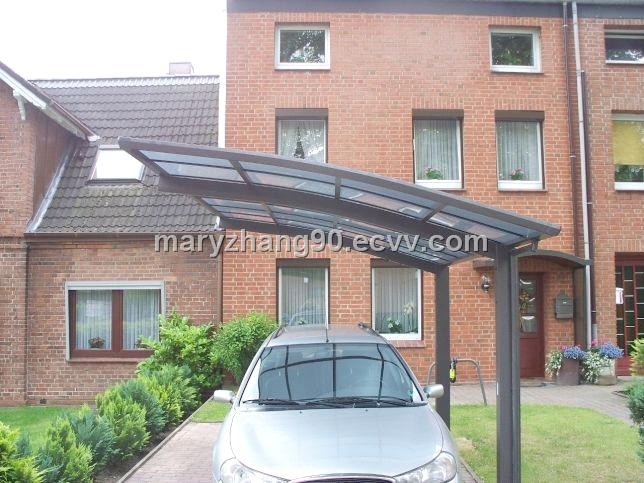 Waterproof storage shed,vinyl UV protectant,unique carport in China(JR)