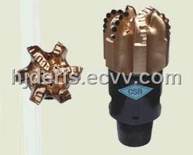 pdc core drill bit for water well drilling 6 blades diamond coal mine core drill bit