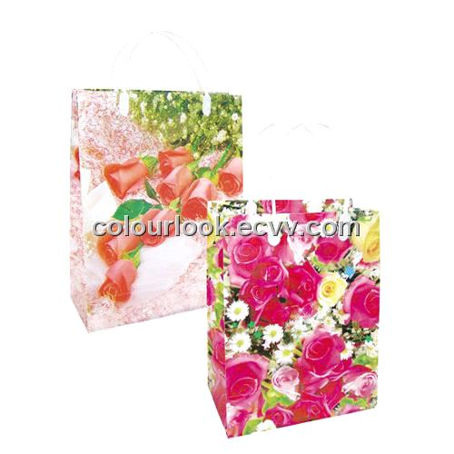 gift bags with ribbon handles