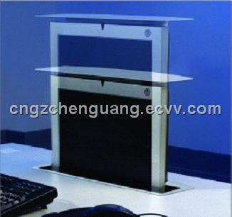 LCD screen motorized lift for conference system