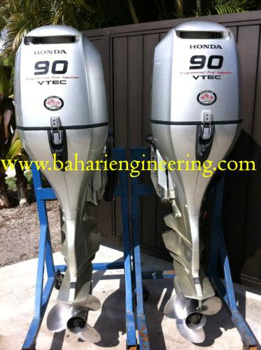 Pair Of 2007 Honda 90 HP 4 Stroke Outboard Motor purchasing, souring agent | ECVV.com purchasing ...