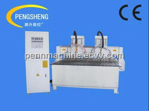6 heads CNC carving machine