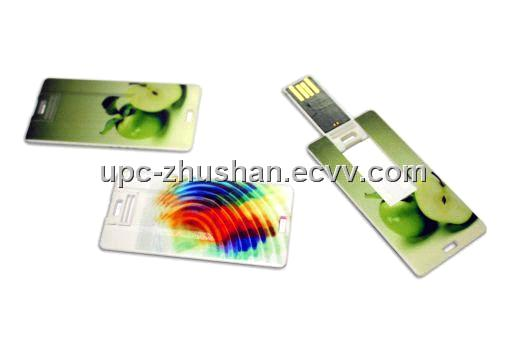 Christmas Gifts Mini Credit Card USB 2.0