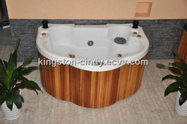 Mini Jacuzzi Bathtub.Pop Up Speakers Mini Jacuzzi Spa Hot Tub For 3 Person From