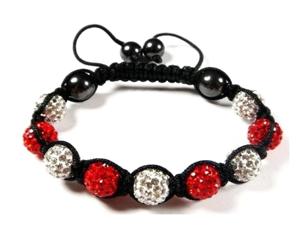 10mm High Quality  Shamballa Bracelet With Disco Ball 2008011